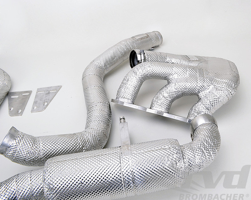 Thermal Insulation - Race Exhausts - Without Mufflers