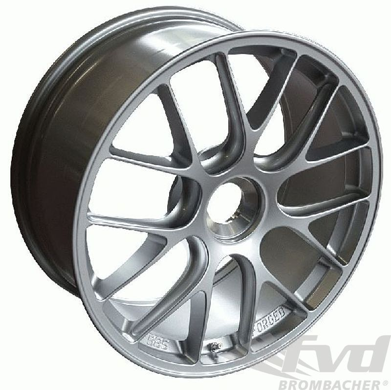 12x19 ET 47 BBS 1-pc. forged Motorsportwheel, silber, with center lock, GT3/GT2 RS 9,3Kg