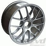 12x19 ET 48 BBS 1-pc. forged Motorsportwheel, anthrazit, with center lock, GT3/GT2 RS 9,3Kg