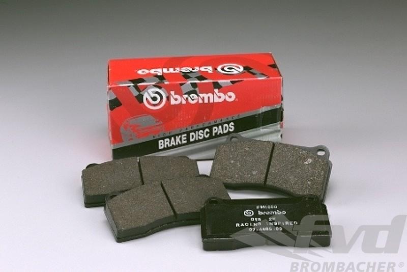 Brake Pad Set - Ferodo - Brembo GT - 6 PISTON (380/355x32mm
