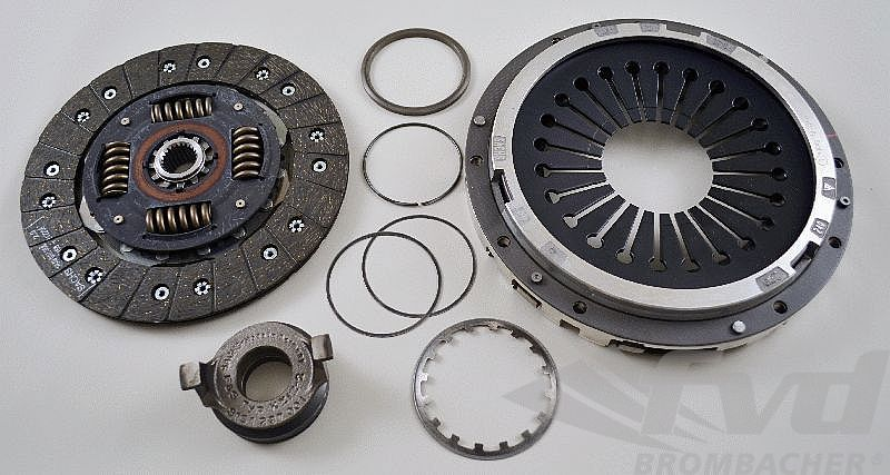 FVD Exclusive Clutch Kit - For Light Weight Flywheel (370 ft/lbs. max.)