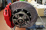 Big Red Brake System 911®  1974-89 / 930  1975-77 - Front - with 322 x 32 mm - Drilled Discs