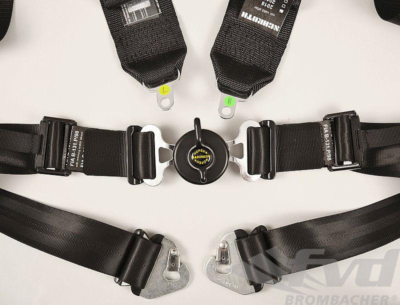 Harnais Schroth G 4 pts Profi 2 ASM 76/50mm noir FIA