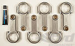 Connecting Rod Set 911® 3.2 L / 930 / 964 / 965 - Carrillo - 23 mm pin