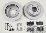 "Brake service kit- rear 955- ( V6, V8, Turbo) / 957  with 17"" brake system"