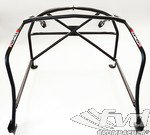 Roll cage steel 987 with X diagonal, harness bar, V Strut roof bar