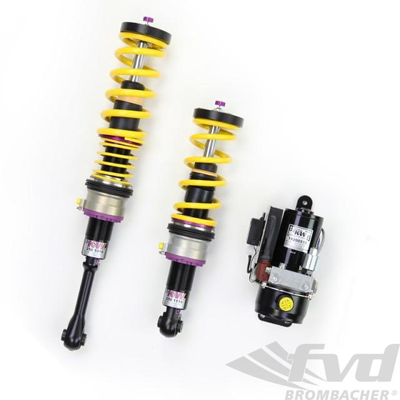 "980 Race suspension ""KW"" with HLS 4 hydraulic lift system"