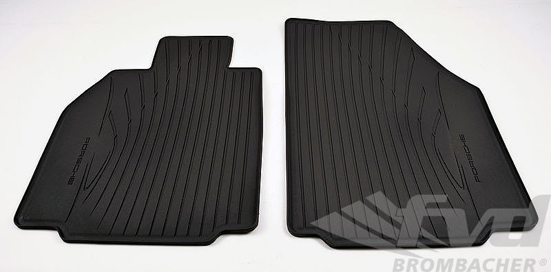 997 05- / 987 05 Rubber Floor Mats only front