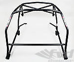 Roll Cage 993 - Steel - Coupe - Without Sunroof - Weld-in - X Diagonal / Tunnel Support and Dash Bar