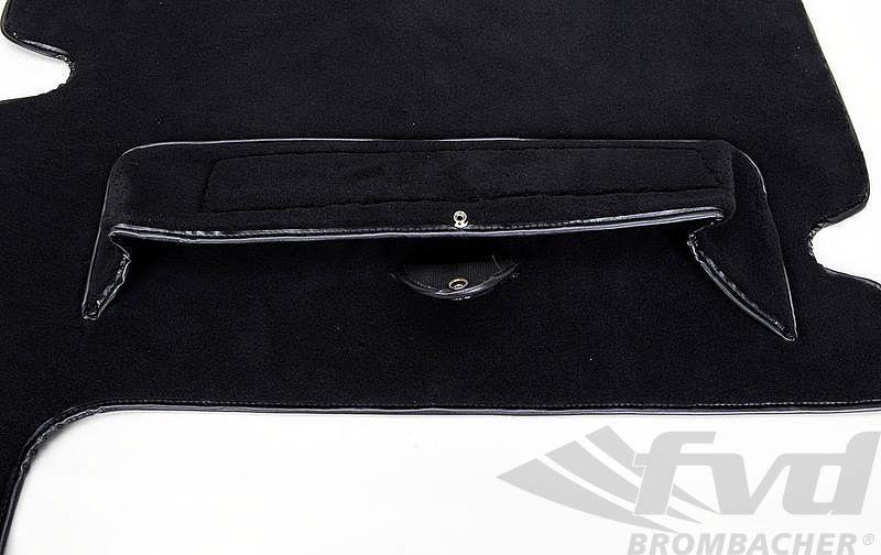 Kofferbodenbelag Teppich 964 RS Velour schwarz
