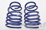 981 Boxster/S 981C/S Lowering Springs -25mm, 982 Boxter/S, 982 C/S -30mm (Tüv)