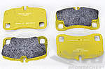 PAGID Racing Brake Pads - Yellow Rear (17,5mm)