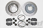 Brake Service Kit - REAR - 993 Turbo / C4S (Original)