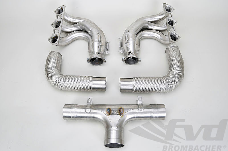 76 mm Race Exhaust System 997.2 GT3 Cup / RSR 3.8 L -  Grand Am Spec