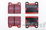 Club Sport Brake Pads Set - EBC Redstuff - Front / Rear - Check Fitment Tab
