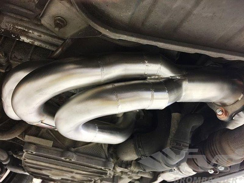 Headers with 200 Cell Cats for use with the OEM Sport Exhaust (PSE)