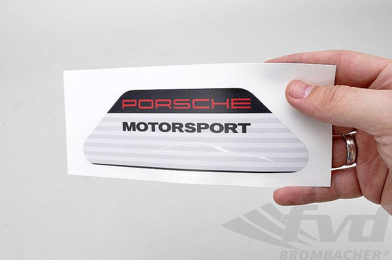 Fvd11072197 Oem Aufkleber Porsche Motorsport 17cm X 6cm