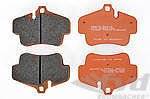 PAGID Racing Brake Pads - orange
