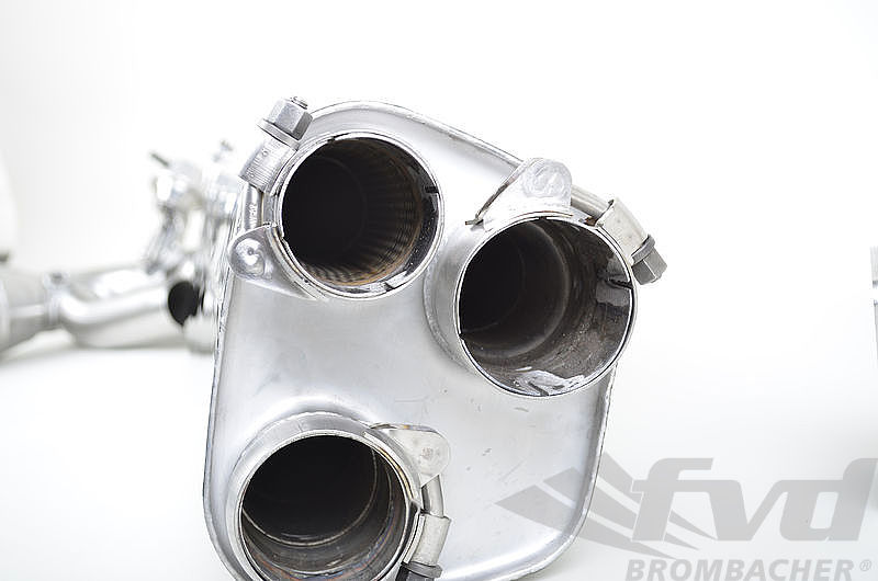 Sport Exhaust System 991.1 and 991.2 Turbo / S - Brombacher - Sound Version with Valves