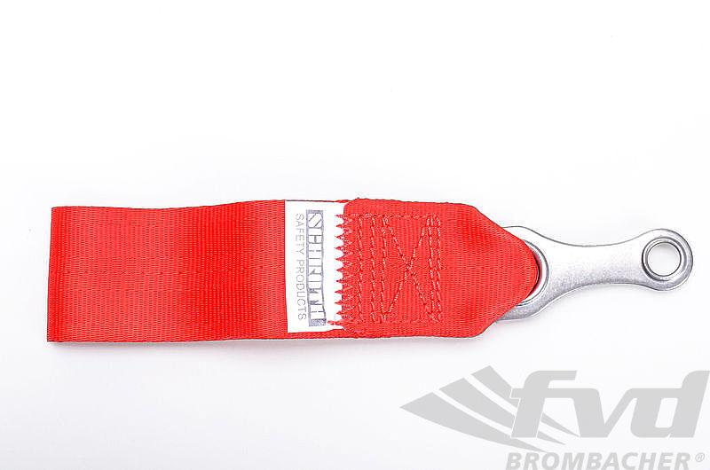 Tow Strap Red (DMSB) red (10cm) fpr screw 7/16