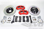 Brembo-Sport System GT front, 6-Piston, (405x34mm), slotted discs