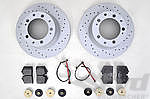 Sport Brake Service Kit 964 C2 / C4 / Wide Body - REAR - for the 4 Piston Caliper