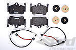 Brake service kit  rear  ( no Discs!) Boxster 987 05-08/ Cayman 06-08