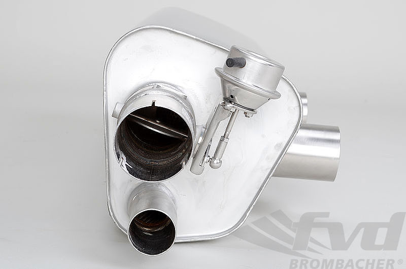 "Sport Muffler 991.2 ""Brombacher"" for cars equipped with PSE (I176)"