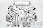 Exhaust System 964 - SPORT - 100 Cell Catalytics- Dual Outlet - With Heat