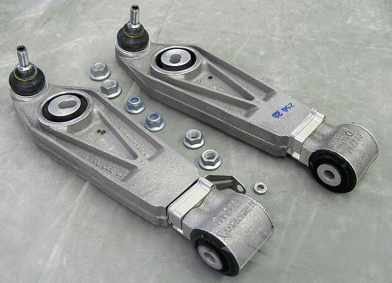 2-piece lower control arm (set) with headlight adjustment