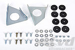 Registration plate mounting kit front and rear