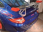 Rear Spoiler 997.2 GT3 RS® Tribute - Wing Blade in Carbon Fiber - RSR Carbon End Plates