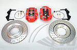 Sport Brake System 911  1974-89 - Front - Brembo GT - 323 x 28 mm - Drilled Discs