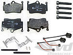 Brake service kit rear 981/982 (I008+ I009) steel brake ( -I450) without discs