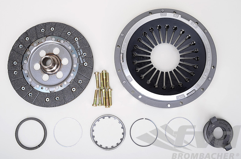 Clutch Kit - ZF SACHS Performance - For Dual Mass (OEM) Flywheel (370 ft/lbs. max.)