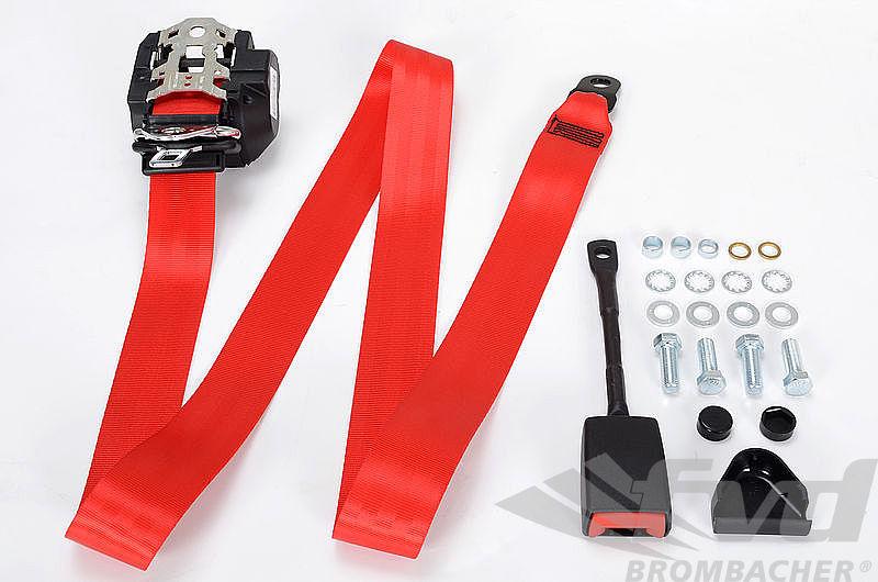 ceinture de s curit av rouge 3 points avec mat riel de montage. Black Bedroom Furniture Sets. Home Design Ideas
