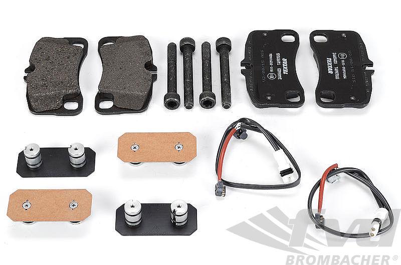 For Porsche 911 Carrera S Targa 4S 05-08 Front /& Rear Disc Brake Pad Set Textar