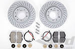 Brake Service Kit - REAR - 993 Turbo / C4S