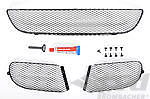 997 GT3/GT3 RS/ Cup OEM Grill Set for Front Bumper, black 07-09