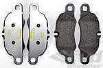 Brake pads front 991 C2 / C4 , 981 Cayman S and Boxster S, 981 SP