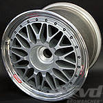 "BBS ""Magnesium"" 12,5x18 ET40   star silver for center lock"