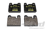 Brake Pad Set - Rear for 911® Up to 1989 / Front for M Caliper
