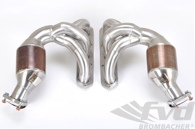 987 Boxster / Cayman Sport Headers (With Primary Catalytics/ 200cells)