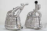 "Valved Sport Mufflers,  997.2 ""Brombacher"" - Requires OEM 3.8 L S / Non PSE Tips"