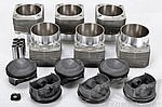 Mahle 3.8 L Piston & Cylinder Set - 964 / 993 (11.3:1) 102 mm bore/ 107 mm spigot - Narrow Rod Eye