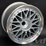 "BBS ""Magnesium"" 9,5x18 ET2  star silver for center lock"