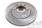 Brake disk rear right 991.1 / 991.2 S ( Steel-brake with Centerlock )