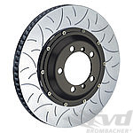 Brembo Type III Slotted Rotor Set 991.1 Turbo and 991.2 Turbo - FRONT - 380 x 34 mm - Steel Brakes