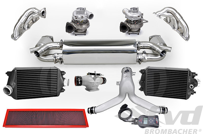 Tuning Kit - 991.1 Turbo / Turbo S - Level 3 - 720 Hp / 723 TQ