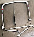 Roll Bar 993 - Aluminum - Coupe - Without Sunroof - Weld In Mounting parts